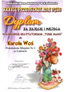 Karolek Woś I miejsc 001